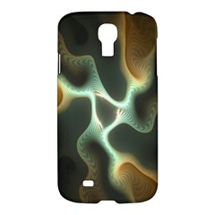 Colorful Fractal Background Samsung Galaxy S4 I9500/i9505 Hardshell Case