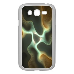 Colorful Fractal Background Samsung Galaxy Grand DUOS I9082 Case (White)
