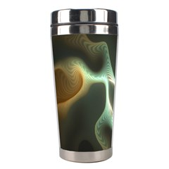 Colorful Fractal Background Stainless Steel Travel Tumblers