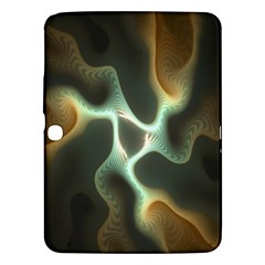 Colorful Fractal Background Samsung Galaxy Tab 3 (10.1 ) P5200 Hardshell Case