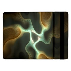 Colorful Fractal Background Samsung Galaxy Tab Pro 12.2  Flip Case