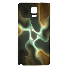 Colorful Fractal Background Galaxy Note 4 Back Case