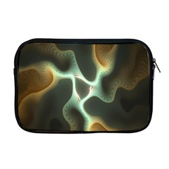 Colorful Fractal Background Apple Macbook Pro 17  Zipper Case