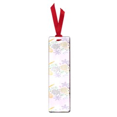 Floral Flower Rose Sunflower Star Leaf Pink Green Blue Small Book Marks