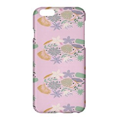 Floral Flower Rose Sunflower Star Leaf Pink Green Blue Apple Iphone 6 Plus/6s Plus Hardshell Case