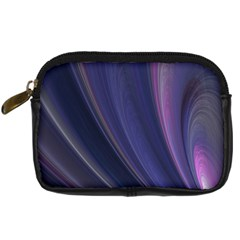 Purple Fractal Digital Camera Cases