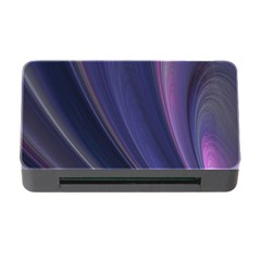 Purple Fractal Memory Card Reader with CF