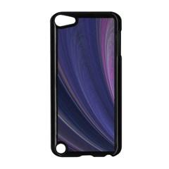 Purple Fractal Apple iPod Touch 5 Case (Black)