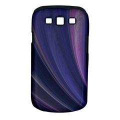Purple Fractal Samsung Galaxy S III Classic Hardshell Case (PC+Silicone)