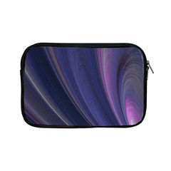 Purple Fractal Apple iPad Mini Zipper Cases