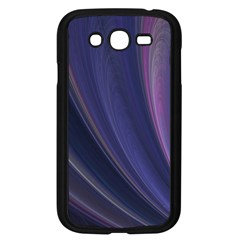 Purple Fractal Samsung Galaxy Grand DUOS I9082 Case (Black)