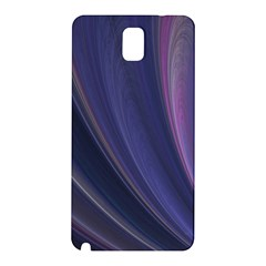 Purple Fractal Samsung Galaxy Note 3 N9005 Hardshell Back Case
