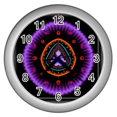 Hypocloid Wall Clocks (Silver)