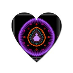 Hypocloid Heart Magnet