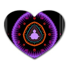 Hypocloid Heart Mousepads