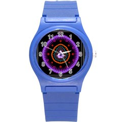 Hypocloid Round Plastic Sport Watch (S)