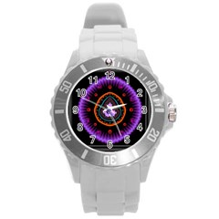 Hypocloid Round Plastic Sport Watch (L)
