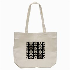 Floral Pattern Seamless Background Tote Bag (Cream)