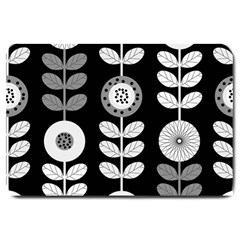 Floral Pattern Seamless Background Large Doormat