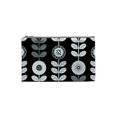 Floral Pattern Seamless Background Cosmetic Bag (small)