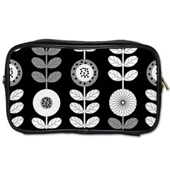Floral Pattern Seamless Background Toiletries Bags