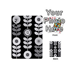 Floral Pattern Seamless Background Playing Cards 54 (mini)