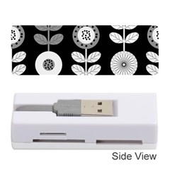 Floral Pattern Seamless Background Memory Card Reader (stick)