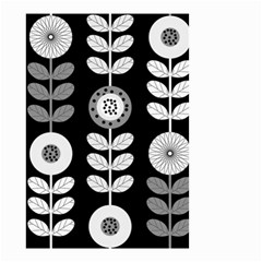 Floral Pattern Seamless Background Small Garden Flag (Two Sides)