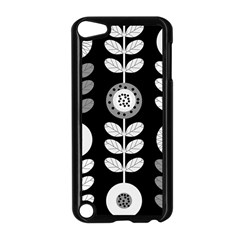 Floral Pattern Seamless Background Apple iPod Touch 5 Case (Black)