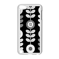 Floral Pattern Seamless Background Apple iPod Touch 5 Case (White)