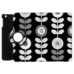 Floral Pattern Seamless Background Apple iPad Mini Flip 360 Case