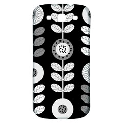 Floral Pattern Seamless Background Samsung Galaxy S3 S Iii Classic Hardshell Back Case