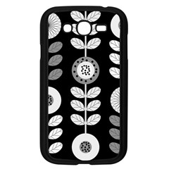 Floral Pattern Seamless Background Samsung Galaxy Grand DUOS I9082 Case (Black)