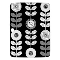 Floral Pattern Seamless Background Samsung Galaxy Tab 3 (10.1 ) P5200 Hardshell Case