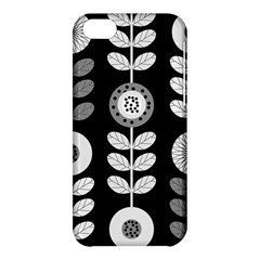Floral Pattern Seamless Background Apple iPhone 5C Hardshell Case