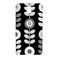 Floral Pattern Seamless Background Samsung Galaxy Note 3 N9005 Hardshell Back Case