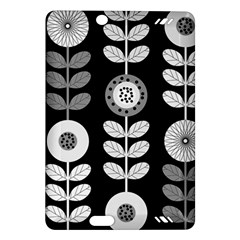 Floral Pattern Seamless Background Amazon Kindle Fire Hd (2013) Hardshell Case