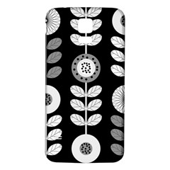 Floral Pattern Seamless Background Samsung Galaxy S5 Back Case (white)