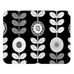 Floral Pattern Seamless Background Double Sided Flano Blanket (Large)