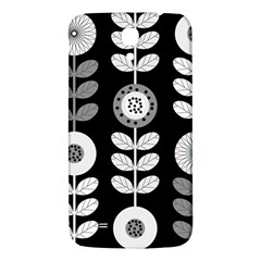 Floral Pattern Seamless Background Samsung Galaxy Mega I9200 Hardshell Back Case