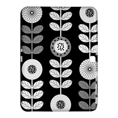 Floral Pattern Seamless Background Samsung Galaxy Tab 4 (10.1 ) Hardshell Case