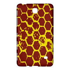 Network Grid Pattern Background Structure Yellow Samsung Galaxy Tab 4 (8 ) Hardshell Case