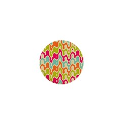 Abstract Pattern Colorful Wallpaper 1  Mini Magnets