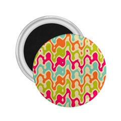 Abstract Pattern Colorful Wallpaper 2 25  Magnets
