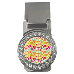 Abstract Pattern Colorful Wallpaper Money Clips (CZ)