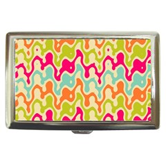 Abstract Pattern Colorful Wallpaper Cigarette Money Cases