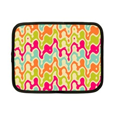 Abstract Pattern Colorful Wallpaper Netbook Case (Small)