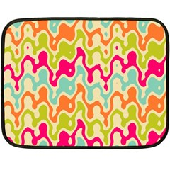Abstract Pattern Colorful Wallpaper Fleece Blanket (mini)
