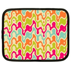 Abstract Pattern Colorful Wallpaper Netbook Case (XXL)