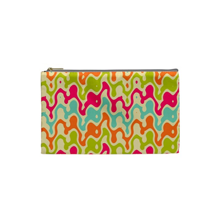Abstract Pattern Colorful Wallpaper Cosmetic Bag (Small)